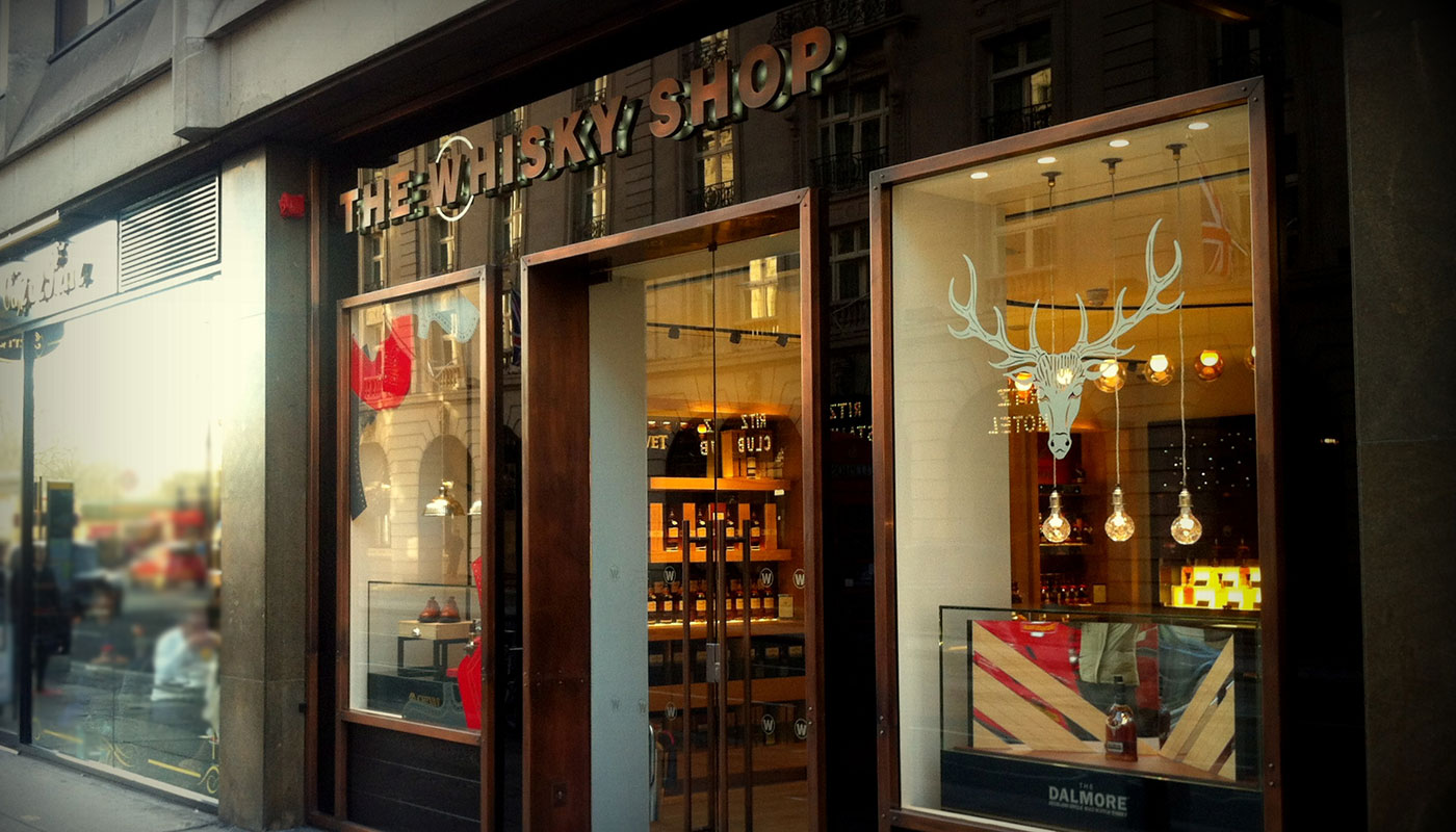 THE WHISKY SHOP LONDON